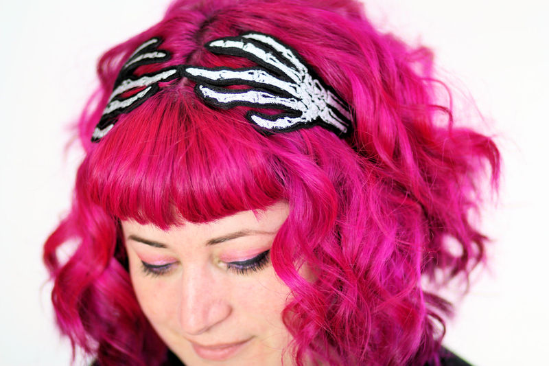 Skeleton Hands Headband - product images  of