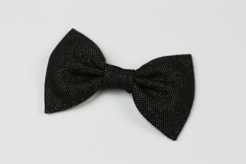 Wool Winter Hair Bows - product images  of