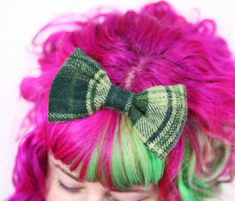 Wool,Winter,Hair,Bows,Hair Bow, hair clip, wool bow, wool hair bow, winter hair clip