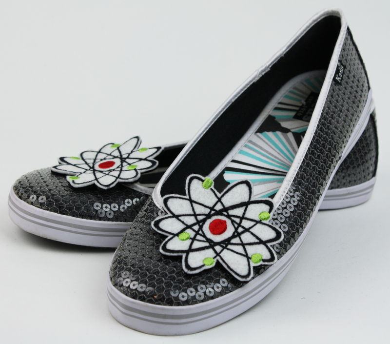 Geek Atom Shoe Clips, Boron Atom - product images  of