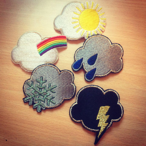 Weather,Hair,Clip,,Sun,,Rain,,Snow,,Lightning,,Rainbow,Accessories,Clip,women,janine_basil,hair_clip,barette,hair_barrette,cute_barrette,rocket_hair_clip,rocket_ship,space_ship,spaceship_hair_clip,silver_hair_clip,silver_rocket,metallic,polyester_felt,rayon_thread,elastic
