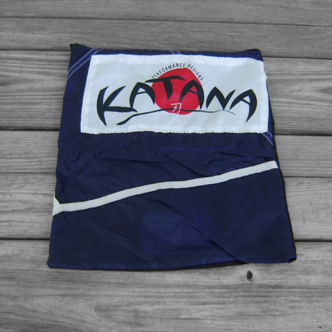 Blackberry,Purple,Zipper,Pouch,Repurposed,Katana,Parachute,parachute logo, zipper pouch, katana