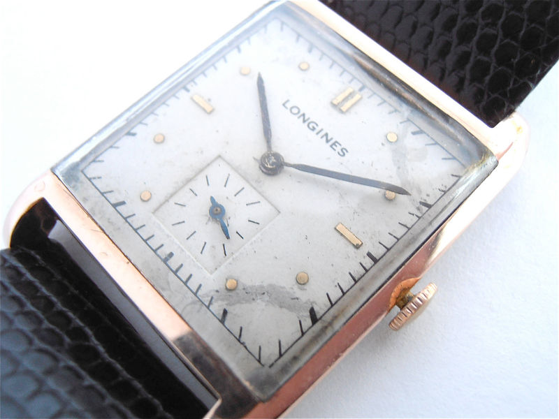 Vintage Longines Watch Longines Tank Watch Longines Mens Watch Genuine Longines Watch Longines Gold Watch Longines Dress Watch Longines Time - product images  of