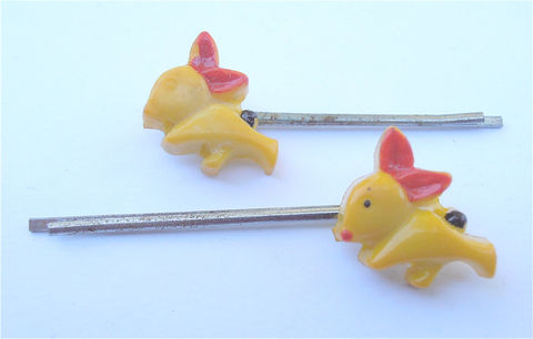 Vintage,Yellow,Rabbit,Hairclips,Bunny,Hairpins,Red,Ear,Hair,Pin,Black,Bushy,Tail,Bunneh,Barrette,Metal,Clips,Plastic,Villacollezione,vintage yellow rabbit plastic hair clips, vintage bunny yellow hairclips, vintage yellow rabbit bobby pins, vintage red ear rabbit bobby pins, vintage black bushy tail rabbit hairclips, yellow bunny bobby pins, yellow rabbit hairpins, yellow bunny hairpin