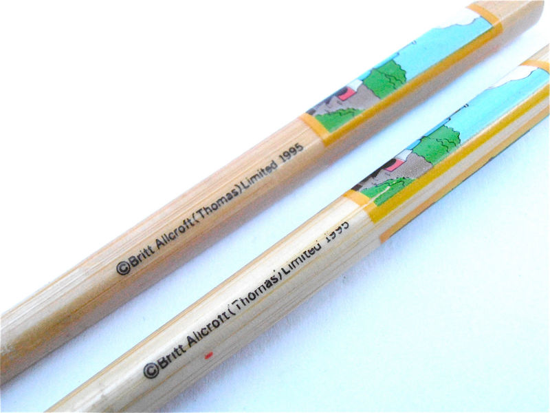 Vintage Thomas And The Tank Engine Chopsticks Thomas The Train Souvenir Kids Chopsticks Kawaii Boys Girls Wooden Children Child Utensils - product images  of