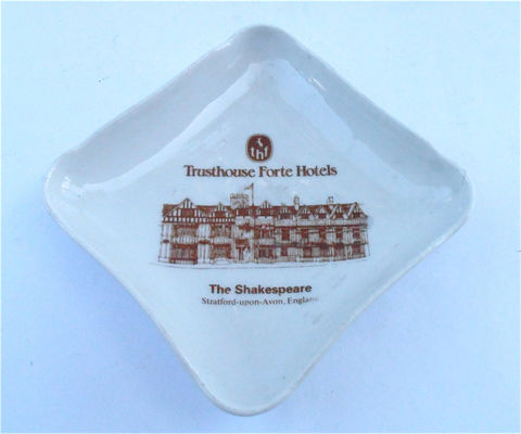 Vintage,Pillivuyt,Porcelain,Soap,Tip,Tray,Ring,Dish,Trusthouse,Forte,Hotel,The,Shakespeare,Souvenir,J,Chomette,Pottery,Pilvite,Mehun,France,vintage pillivuyt porcelain soap tip tray, vintage pillvuyt cream square ashtray, vintage trusthouse forte hotel souvenir dish, the shakespeare hotel souvenir porcelain small catchall tray, vintage chomette pilvite porcelain pottery, mehrun france pottery