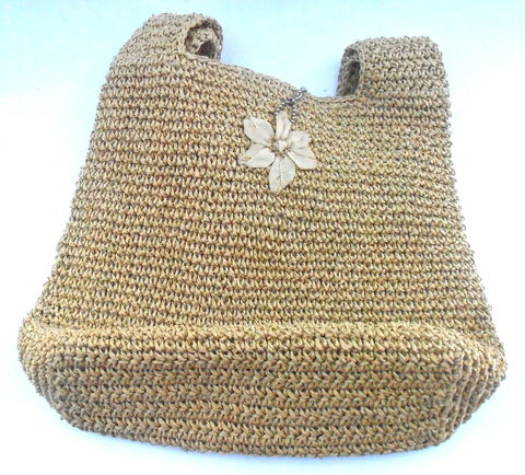 Vintage,Natural,Woven,Straw,Shoulder,Bag,Esprit,Hobo,Boho,Flower,Grosgrain,Pink,Gingham,Tan,Beige,Ball,Chain,Pendant,Charm,Key,Summer,Hippie,vintage natural woven straw hobo shoulder bag, vintage esprit hobo boho straw bag, vintage grosgrain flower decoration, vintage esprit ball chain link key holder, vintage pink gingham fabric bag, vintage esprit de corp straw woven bag, esprit straw bag