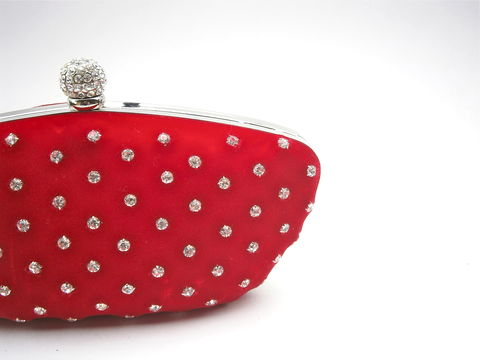 Vintage,Red,Velvet,Evening,Bag,Formal,Clutch,Purse,Rhinestone,Studded,Silver,Tone,Handbag,Plush,Fabric,Ball,Encrusted,Lock,Cocktail,Pouch,vintage red velvet evening clutch purse, vintage red velvet evening handbag, vintage red velvet formal evening purse, silver ball encrusted bag, vintage plush red velvet compact evening bag, vintage red velvet cocktail purse, vintage red evening purse