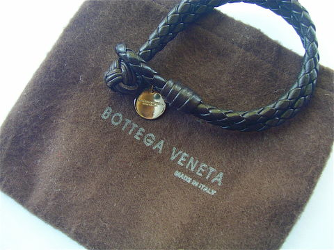 Bottega,Veneta,Leather,Bracelet,Designer,Woven,Braided,Double,Strand,woven leather bracelet, Bottega Veneta Intrecciato signature brown leather bracelet, authentic bottega veneta leather bracelet, lariat, double strand leather bracelet, designer bracelet, signature bracelet, chocolate brown bracelet, italian bracelet