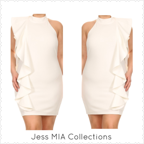 The,Iris,Dress,ruffle dress, plus size, curvy, Jess MIA Collections, iris