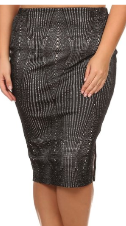 The,Fashion-Forward,Pencil,Skirt,plus size, curvy girl, women's apparel, plus size skirts, Jess MIA Collections