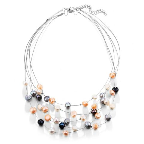 New,Arrival!,The,Frosted,Pearl,Necklace