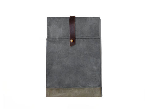Sessa,Carlo,iPad,Mini,Case,-,Charcoal,Bags_And_Purses,Laptop,Padded,leather_ipad_case,canvas_ipad_case,Amalfi Turquoise, Tealleather,chrome_buckle,olive,brown,sessa_carlo,hand_waxed,waxed_canvas,military,utility,red,wool,brass,leather,canvas,Confederate Grey