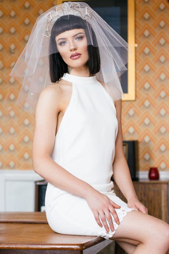 Crystal Pentasparkles Bridal Crown - product images  of