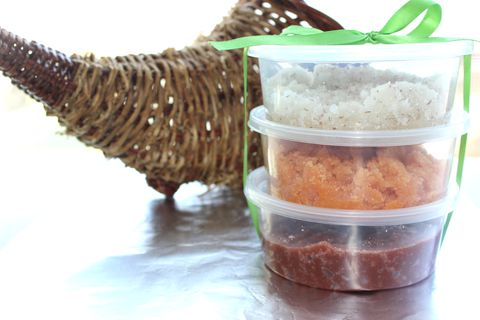 Fall,Sugar,Scrub,Trio,Sugar scrub, pumpkin, vanilla, cranberry, moisturize, fall, bath, body, skin care, exfoliate, green, vegan, all natural, shea butter, seasonal, gift set