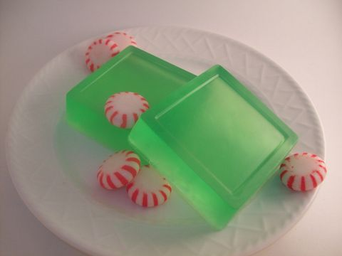 Mama,Shirley's,Peppermint,Soap,Bath_and_Beauty,Bath,body,soap,glycerin,scented,vegan,skin_care,peppermint,herbndevelopment,herbn_development,new_orleans,gift,green,glycerin_base,vegetable,extra_virgin_olive_oil,castor,seed_oil,coconut_oil,essential_oil,castille_soap,colorant