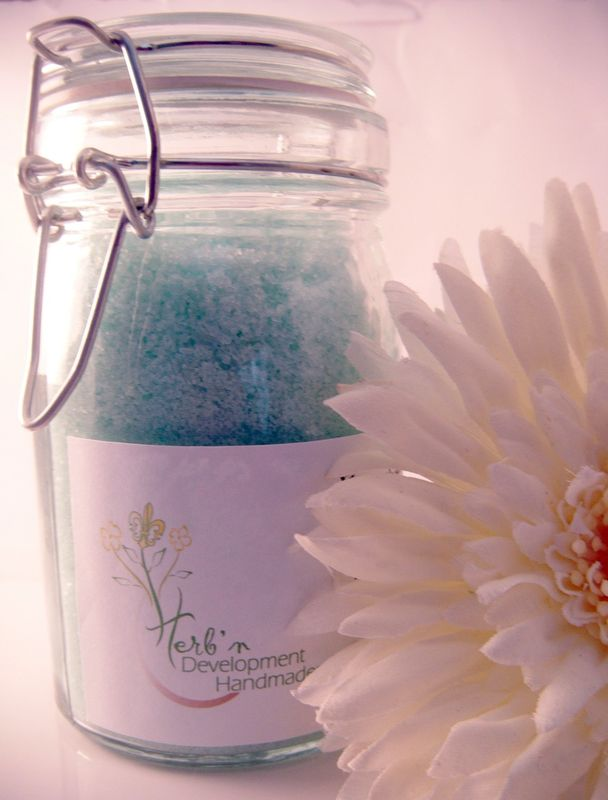 Eucalyptus Mint Salt Soak - product images  of