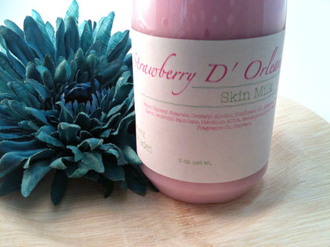 Strawberry,D',Orleans,Skin,Milk,Bath_and_Beauty,Body,Lotion,lotion,moisturizer,scented,fragrance,oils,skin,mllk,christmas,herbndevelopment,herbn_development,new_orleans,strawberry,pink,shea_butter