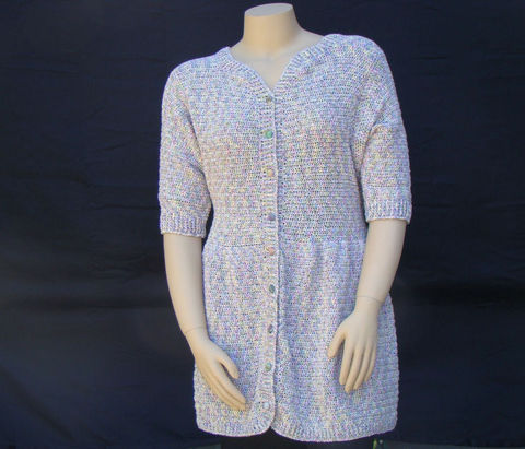 Plus,Size,Cardigan,Sweater,,Cotton,Sweater,XL,,XXL,or,1X,,Short,Sleeve,plus size sweater, sweater plus size, womens sweater, sweaters women, handmade sweater, plus size fashion, junior plus size, cotton cardigan,summer,sweater coat, jacket,xl,1x,xxl, knit sweater,crochet sweater, short sleeve sweater