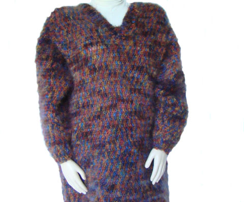 Plus,Size,Tunic,Sweater,2X,or,3X,,Sweater,,Mohair,plus size sweater, sweater plus size,handmade sweater, designer sweater,plus size fashion, mohair,tunic,3x,pullover,v neck,knit sweater,crochet sweater