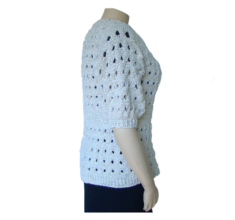 Plus Size Cardigan Sweater, Fashionable Plus Size Cotton Sweater - product images  of 