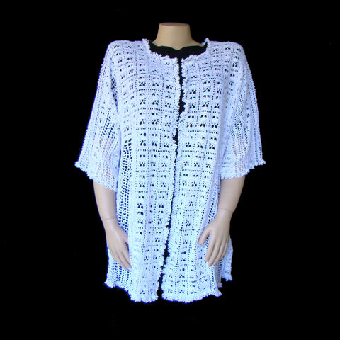 Plus,Size,Lace,Cardigan,,Hand,Crocheted,4X,5X,,Wedding,plus size cardigan, plus size crochet lace cardigan, plus size lace, plus size clothing, womens plus size clothing,trendy plus size
