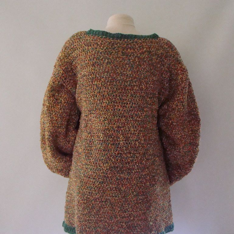 Plus Size Sweater Size 4X 5X , Cotton Chenille - product images  of