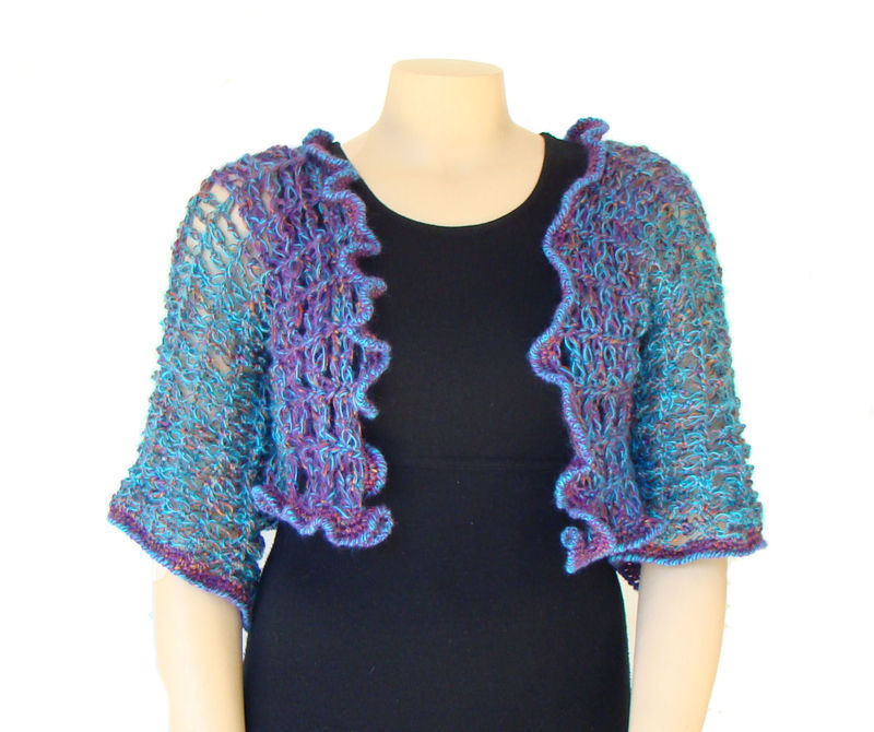 Plus Size Shrug, Plus Size Bolero XL 1X, Capelet - product images  of