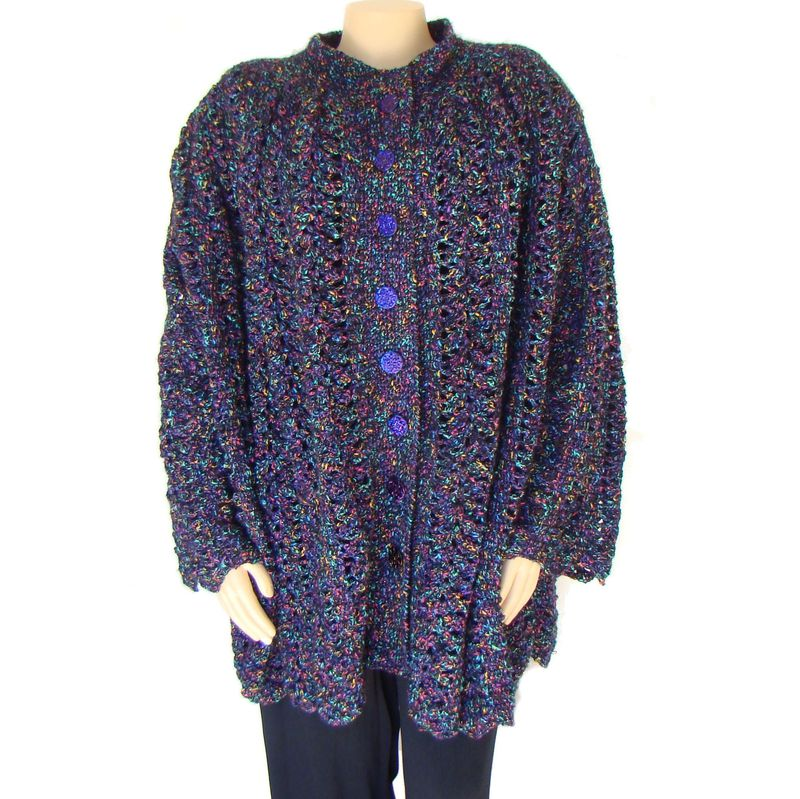 Plus Size Swing Coat, Plus Size Wool Coat 1X 2X 3X - product images  of