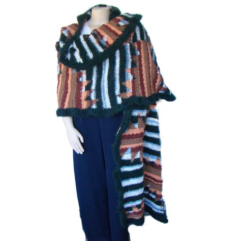Plus,Size,Shawl,,Wrap,Crochet,Wool,Mohair,Shawl,Plus Size Fashion,Plus Size Clothing,Plus Size Cape, Plus Size Shawl, Plus Size Wool