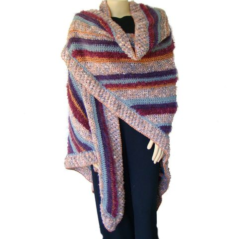 Plus,Size,Shawl,,Crochet,Woman's,Wrap,1X,,2X,,3X,crochet shawl, crocheted shawl,womens plus size, plus size women,plus size clothing, plus size fashion, plus size shawl,plus size wrap,high end plus size