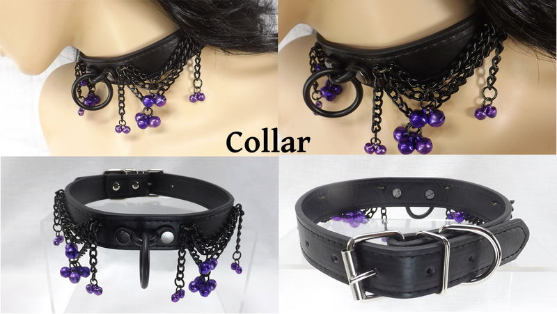 collar cuff and tube Bdsm