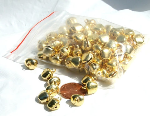 Bells,100,pieces,10mm,Gold,Color,Steel,Jewelry,Craft,Supply,ringing,holiday,bells,craft,supplies,charms,Accessories,Charm,tiny_bells,bell_charms,craft_supply_bells,jewelry_supply_bells,tiny_jingle_bells,tiny_bell_charm,10_mm_bells,gold_bells,gold_bell_charms,small_gold_bells,gold_bell_charm,holiday_bells,ringing_bells