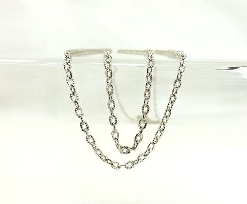 4mm,oval,chain,textured,links,jewelry,making,supply,4mm oval chain, textured links chain, jewelry making supply, bulk silver chain
