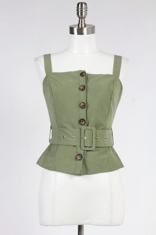 BELTED,TOP