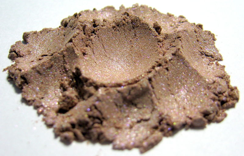 *50% clearance* TEA ROSE pink champagne shimmer powder Mineral Highlighter - product images  of