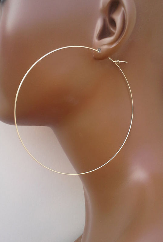 Silver Hoop Earrings - product images  of