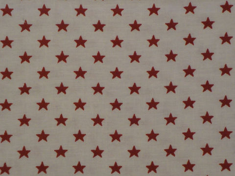 Cotton,Fabric,White,With,Red,Stars,Sold,By,The,Yard,Supplies,fabric_yardage,cotton_material,calico_fabric,star_fabric,cotton_cloth,americana_fabric,american_flag_stars,textile,quilt_fabric,fabric_shop,red_star_material,red_star_fabric,doll_making_fabric,Cotton Material