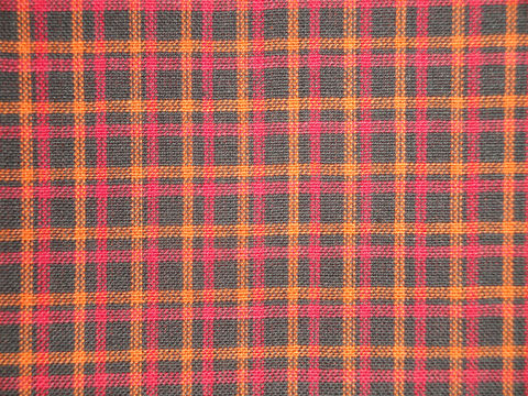 Black,Orange,Red,Plaid,Homespun,Fabric,Sold,By,The,Yard,Supplies,cotton_material,cotton_fabric,homespun_material,homespun_fabric,plaid_material,plaid_fabric,quilt_fabric,craft_fabric,fabric_yardage,primitive_fabric,home_decor_fabric,RW0868,black_orange_red,Cotton