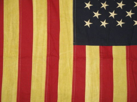 American,Flag,Aged,Large