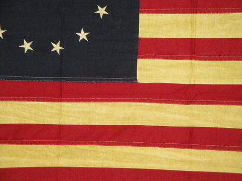 Betsy,Ross,Flag,Aged,Large
