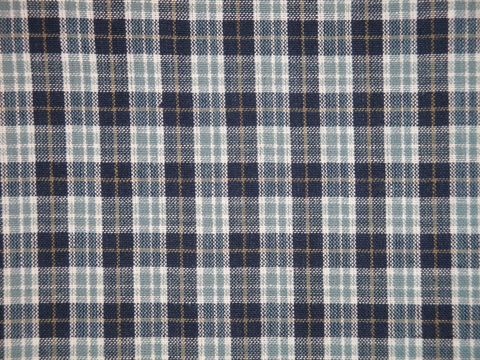 Small,Plaid,Cotton,Homespun,Material,Navy,Light,Blue,Tan,White,Sold,By,The,Yard,Supplies,Fabric,homespun_fabric,primitive_fabric,rag_quilt_fabric,quilt_fabric,home_decor_fabric,cotton_fabric,fabric_by_the_yard,fabric_yardage,fabric_shop,sewing_fabric,craft_fabric,plaid_fabric,RW0799