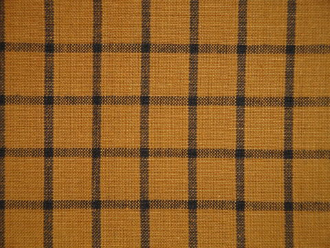 Pumpkin,Spice,Woven,Cotton,Homespun,Window,Pane,Fabric,1,Yard,pumpkin spice ticking fabric. ticking stripe fabric, Dunroven House Homespun Fabric, primitive stripe fabric