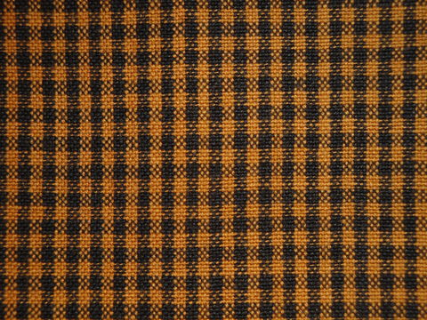Pumpkin,Spice,Woven,Cotton,Homespun,Small,Check,Fabric,1,Yard,pumpkin spice homespun fabric, orange and black small check fabric, pumpkin small check fabric. small check fabric, Dunroven House Homespun Fabric, primitive check fabric