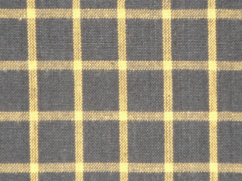 Black,And,Mustard,Woven,Cotton,Homespun,Window,Pane,Plaid,Fabric,1,Yard,mustard homespun fabric, window pane plaid fabric, Dunroven House Homespun Fabric, primitive plaid fabric