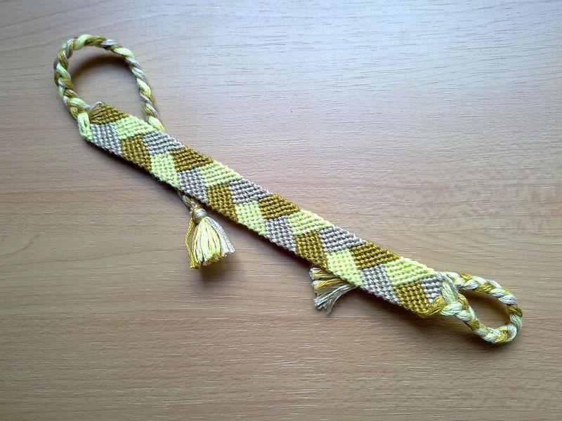 Friendship Bracelet Braided Micro Macrame Made To Order