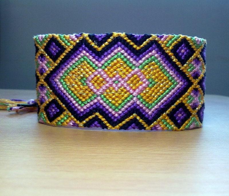 Bracelet patterns with 2 strings