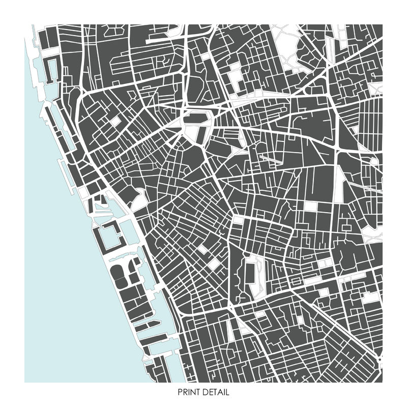 Liverpool Map Art Print - Limited Edition Prints