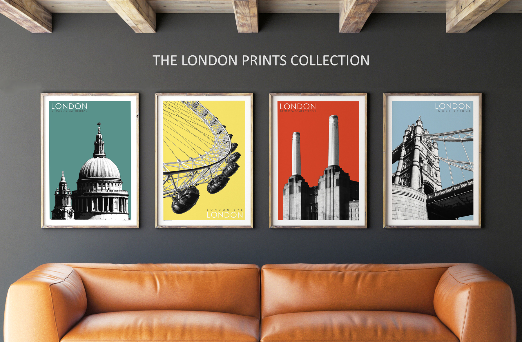 London Prints Collection by Bronagh Kennedy