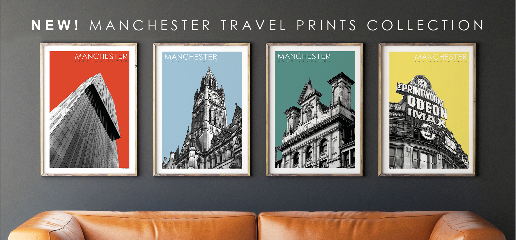 Manchester Travel Prints
